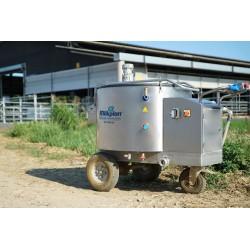 mléčné taxi - výdejní vozík mléka pro telata 200l
