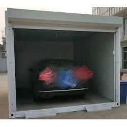 kontejnerová garáž ze sendvičových panelů