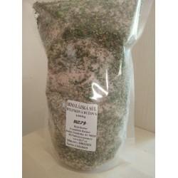 Himálajská sůl růžová bylinková uzavíratelný sáček