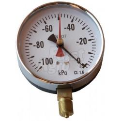 """Vakuometr 100 mm - 100 kPa, 3/8"""""""