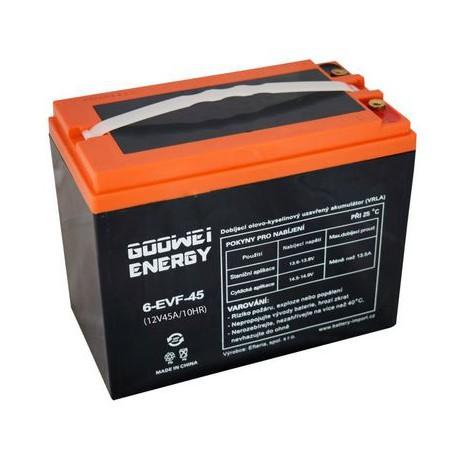 gelová trakční baterie 60V/ 45Ah