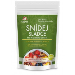 Snídej sladce bez přidaného cukru! - konopné semínko skořice