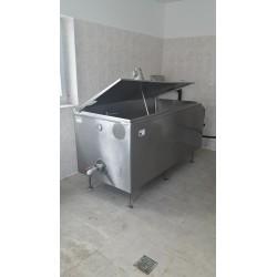 Chladicí tank na mléko 600l