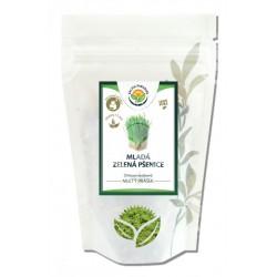 Mladá zelená pšenice - mletý list