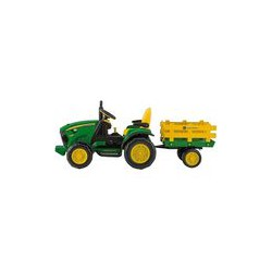John Deere Ground Force 2017 s vlekem