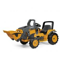 Dětská elektrický traktor Deere Construction Loader